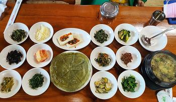 '한국인의 밥상'이 찾은 전남 구례 들녘밥상의 뽕잎백반! (구례맛집/구례여행)