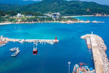 삼척 해상케이블카 장호역 옥상 전망대, 한국의 나폴리가 한눈에