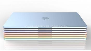 다양한 컬러를 적용한 새로운 맥북 / 맥북에어 렌더링 유출