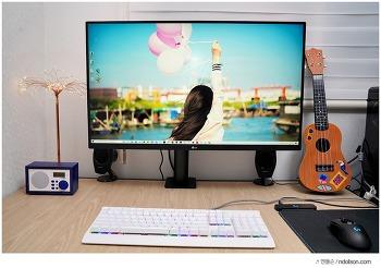 32인치 모니터 추천, LG 32UN880 360 전용 스탠드로 책상 넓게 쓰는 모니터