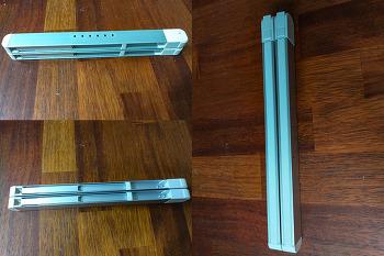 휴대용 접이식 노트북 거치대 추천 - 루나랩 N03