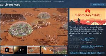 (스팀 무료게임) Surviving Mars
