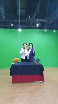 우크라이나 매거진 [비즈니스우먼] 8월호 한국여성 CEO 인터뷰- 엠유 조연심 대표 by 마리아 한국지사장