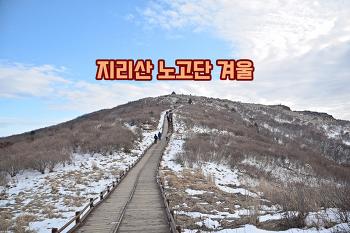 [90번째 산행]겨울, 지리산 노고단으로 떠나는 겨울여행