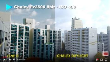 8비트 영상을 알렉사 느낌으로 색보정 GHALEX DAYLIGHT FZ2500 FZ200 8BIT