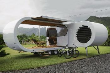 트레일러 족을 고려해볼 만한 미래형 트레일러 디자인