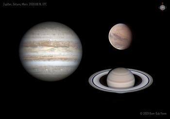 3 Planet (Jupiter, Saturn, Mars) 2020-08-18