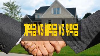 계약금과 해약금, 위약금의 차이는?