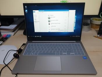 삼성 노트북 플러스 NT550XCR-AD1A 윈도10 설치와 메모리 추가 SSD 추가