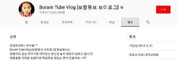 """유튜브 추천 채널 - 스무 번째 이야기 """"2천만 구독자를 향해가고 있는 보람튜브"""""""