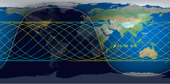 [20210508]지구로 추락하는 중국 로켓 위치 추적 사이트