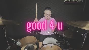[4K/HDR]Olivia Rodrigo - good 4 u | ROP Drum Cover 알오피 드럼커버