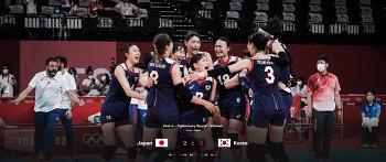 20210731 한국 여자배구팀