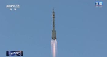 중국, '우주 정거장 건설'…우주인 3명 태운 선저우 12호 발사