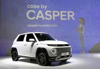 현대 경형 엔트리 SUV '캐스퍼' 출시 - 1.0 터보 액티브 선택 가능, 1열까지 풀 폴딩으로 넓은 공간 활용
