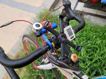자전거 스마트폰 거치대 360 회전형 Baseus 베이스어스