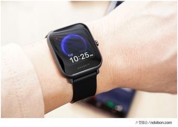 애플워치 8배 가성비 샤오미워치, 실사용해본 어메이즈핏 팝 장점, 단점은?