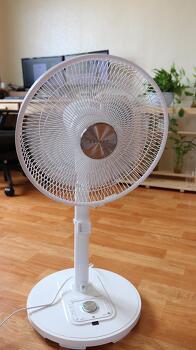 파세코 DC선풍기 동작감지 LED무드등 리코콘 조그셔틀 리뷰/후기