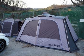 난연텐트는 필수! 치기 쉬운 텐트 쟈칼 그라나다 좋네요~ - 가성비 좋은 텐트