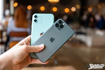 아이폰11 vs 아이폰11 프로. 뭐 사는게 좋을까? 개통은??