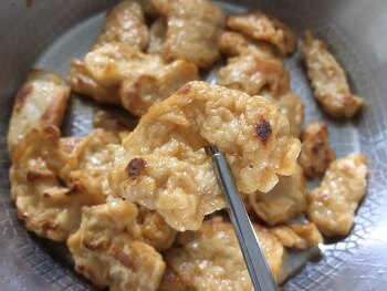 [풀무원 어묵 가라아게] 이마트에서 구매한 닭가슴살이 들어간 어묵.
