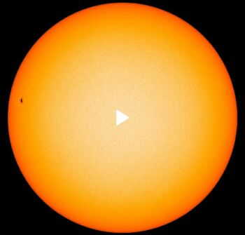 The appearance and disappearance of sunspot AR2738
