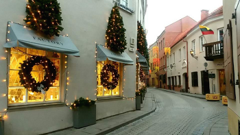 Vilnius 110_1월의 아침
