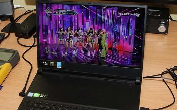 ASUS 게이밍 노트북 ASUS ROG ZEPHYRUS S GX531GW-ES013T 리뷰 후기