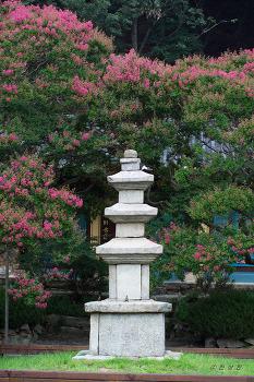 보물 제1371호 영동 반야사 삼층석탑