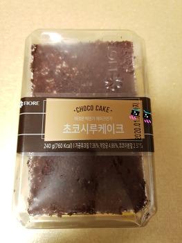 이것은 떡인가 케이크인가~초코시루케이크