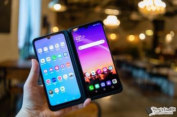 LG V50S 씽큐와 듀얼스크린 활용 팁, 멀티페이지 좋네!