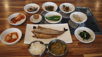 광주맛집 미자네 생선구이 광주시청 근처