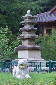 문화재자료 제122호 금당사석탑