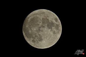2019년 한가위 보름달