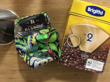 [독일 브리지타 커피 필터/여과지] 노브랜드에서 구매한 핸드드립 커피 필터.