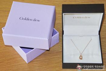 [동아일보 골든걸]골든듀 해피듀 18K 다이아몬드 목걸이
