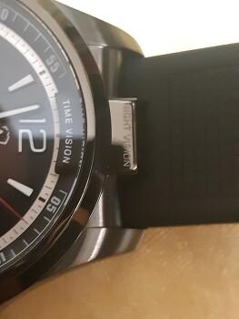 VICTORINOX NIGHT VISION QUARTZ MOVEMENT BLACK DIAL Model : 241596