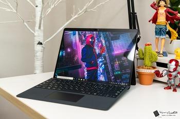 생산성과 휴대성 만족, 서피스 프로 X 후기