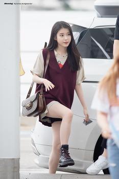 [2019.09.04] 아이유 인천공항 방콕 출국사진 Part. 1