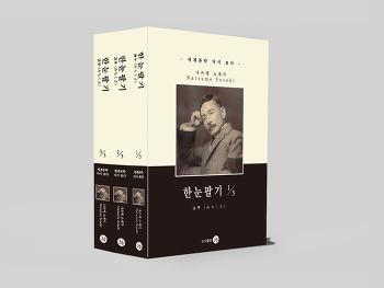 <2019년 7월 신간 도서>  한눈팔기 1~3권  / 나스메소세키 作