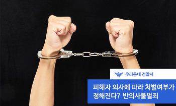 (은평) 피해자 의사에 따라 처벌여부가 정해진다? 반의사불벌죄