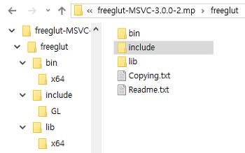 OpenGL, Visual Studio 2019에서 시작하기(메모)