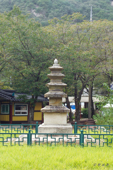 전라북도 문화재자료 제122호 금당사석탑