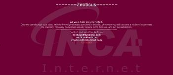[랜섬웨어 분석] Zeoticus 랜섬웨어