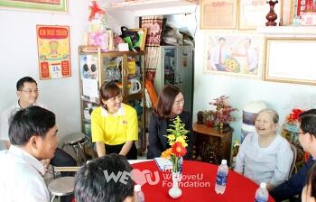 국제위러브유(장길자회장)베트남 '위대한 어머니'들 복지 지원!!