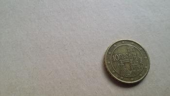 오스트리아 10센트 동전