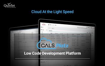 퀸텟시스템즈 SaaS 기반의 로코드 개발 플랫폼으로 비대면 IT구축 시장 개척