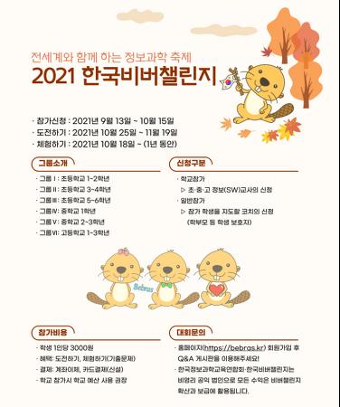 2021 한국비버챌린지