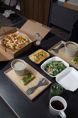 201207 _ 월요일 포장 음식으로 즐기는 만찬 (아이폰12프로맥스 사진)