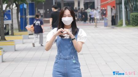 210614 두시탈출 컬투쇼 출근길 진기주 직캠 by 스피넬